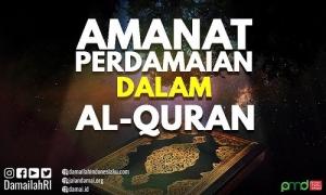 Amanat Perdamaian dalam Al Quran