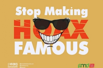 Ronda Online: Stop Making Hoax Famous