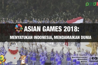 Asian Games 2018; Menyatukan Indonesia, Mendamaikan Dunia