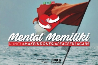Mental Memiliki, Kunci Make Indonesia Peaceful Again